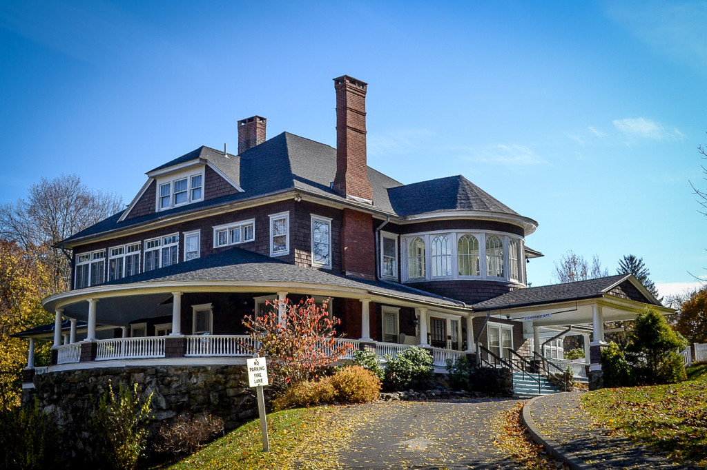 Roofing, Masonry & Flashing Renovations for Tarrywile Mansion in Danbury, CT