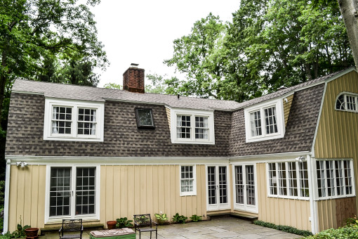 Darien Home with Architectural Shingles