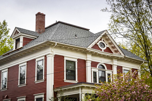 Architectural Shingles Installed on Historic Livingston Street Home in New Haven, CT
