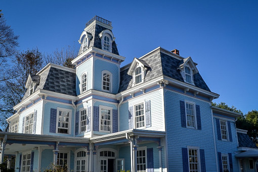 Inspire Synthetic Slate for Historic Indian Neck Home Roof Restoration