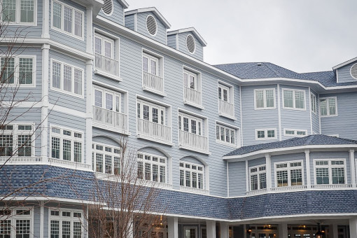 New Architectural Shingles for the Madison Beach Hotel in Madison, CT