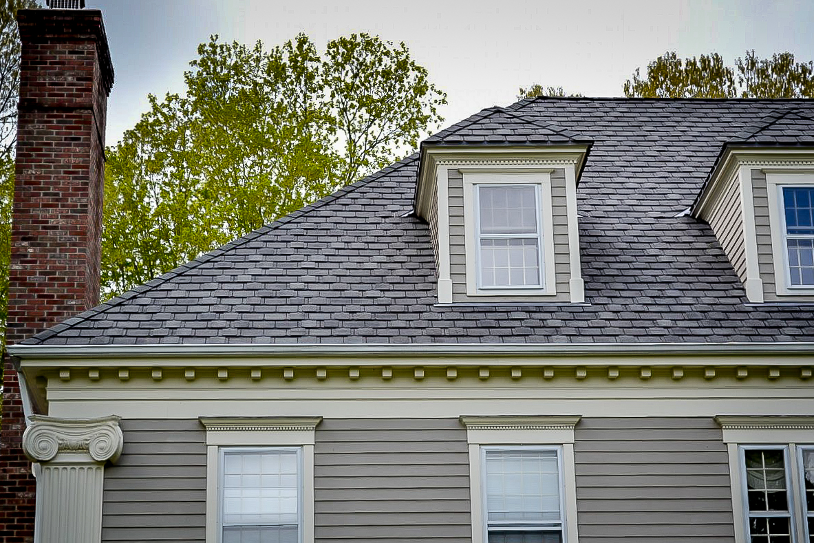architectural shingles installation.  Shingles CT Roofcrafters Installed A 6000 Square Ft Premium Architectural Shingle  Asphalt Roofing System Comprised Of GAF Camelot Shingles On This Home In Madison  And Architectural Shingles Installation