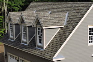 Detail of a Killingworth, CT residence with Architectural Asphalt Shingles