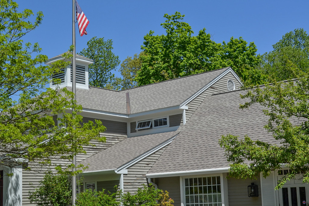 Cool Series GAF Timberline Architectural Shingles for Killingworth Town Library