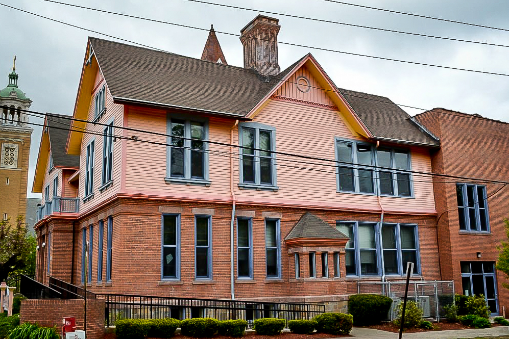 New Haven Rehab Center Gets New Architectural Shingles