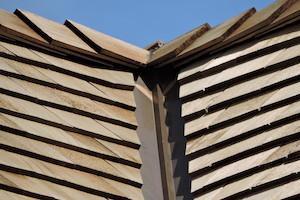 Westport CT Cedar Roof Valley Detail