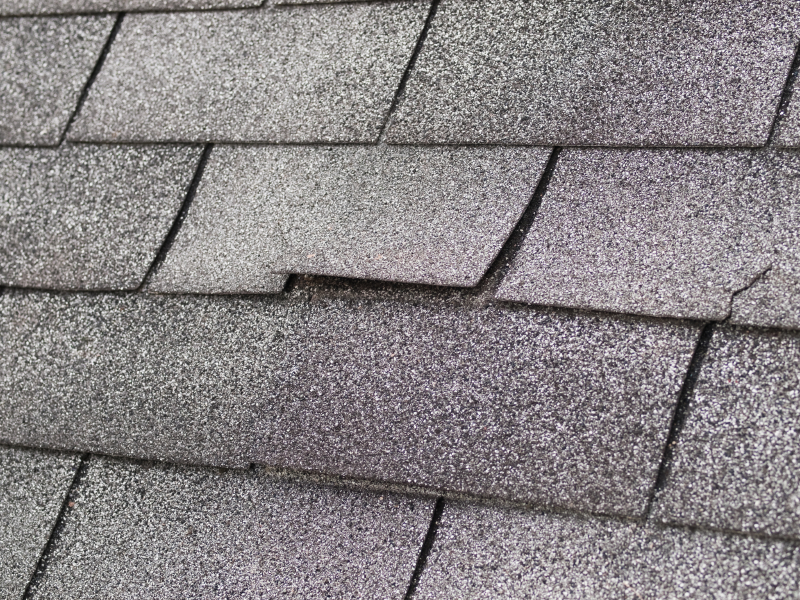 Post-winter roof inspection