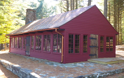 Oak Cabin, Chatfield Hollow – Historic Restoration