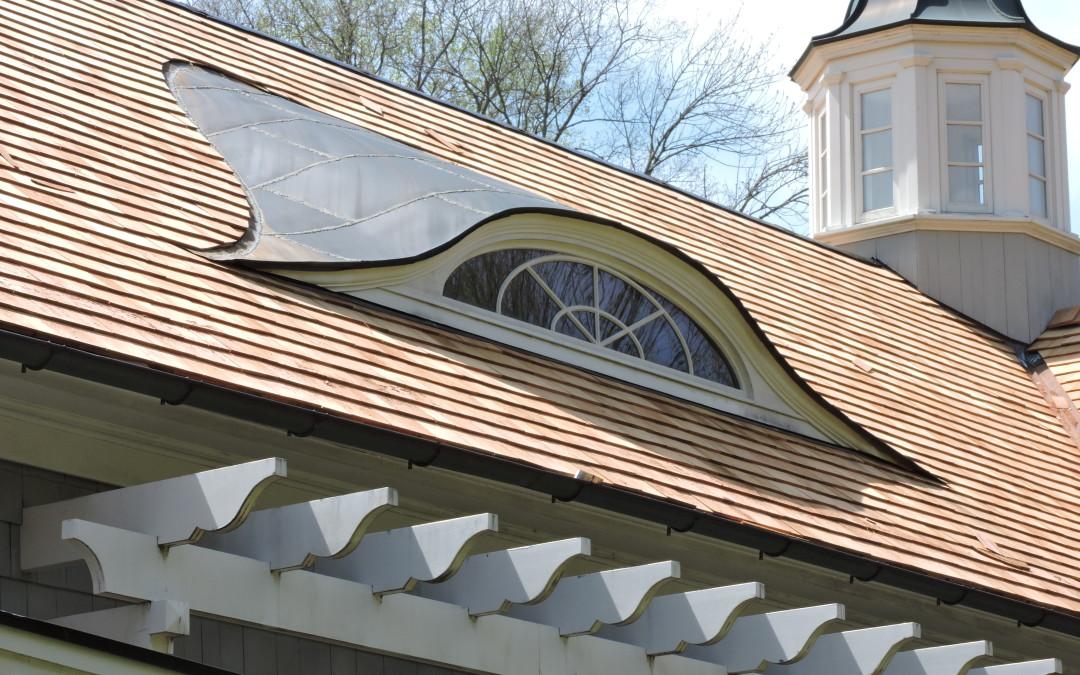CRC Wood - 1 Hobart Street - Eyebrow Dormer Detail