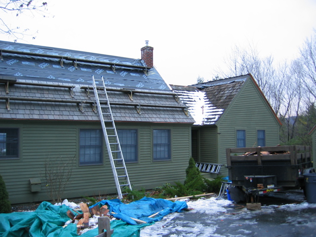 Roofing in Winter