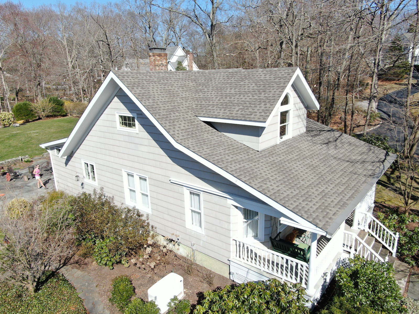 Architectural Asphalt Roof on Madison, CT Home