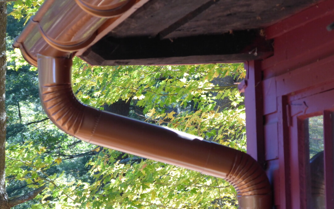 The Art of Roofing – Half-Round Gutters