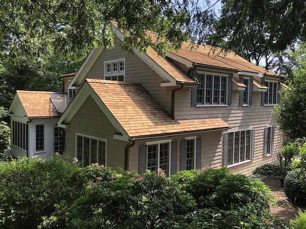 Western Red Cedar on Traditional Cape in Fairfield, CT