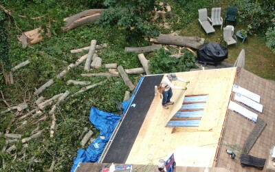 Hurricane Dangers to your Roof beyond Fallen Trees or Flying Branches
